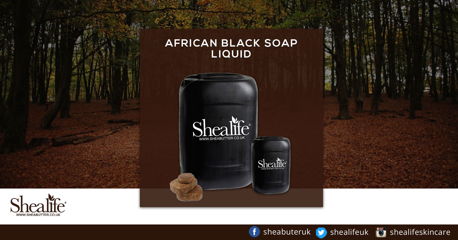African Black Soap Liquid