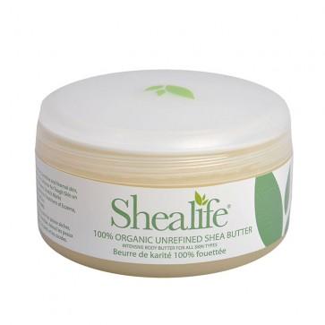 Shea Life 100% Organic Unrefined Shea Butter, 150g, 5.29 oz