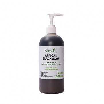 African Black Soap, Original Formula, Unscented, 500ml