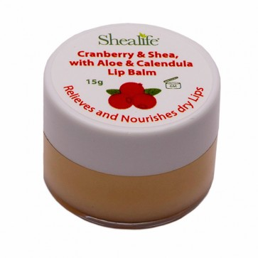 Cranberry & Shea, with Aloe & Calendula,15g